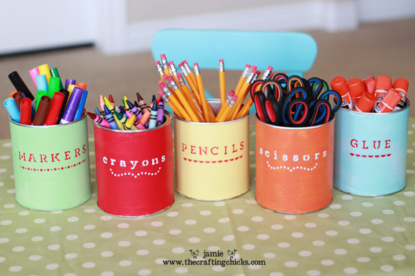 Back to school containers