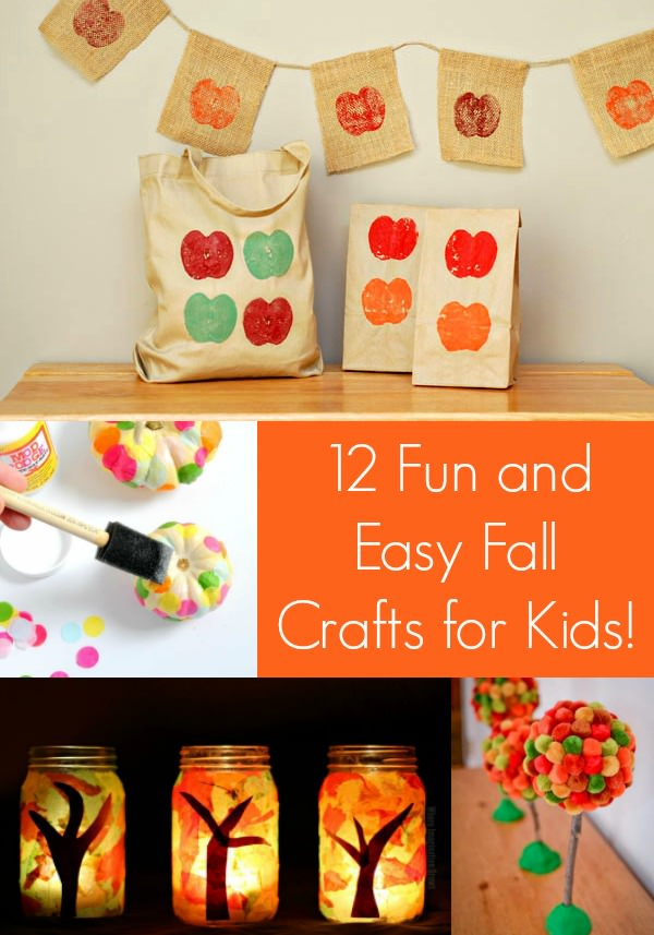 12 fun and easy fall crafts for kids