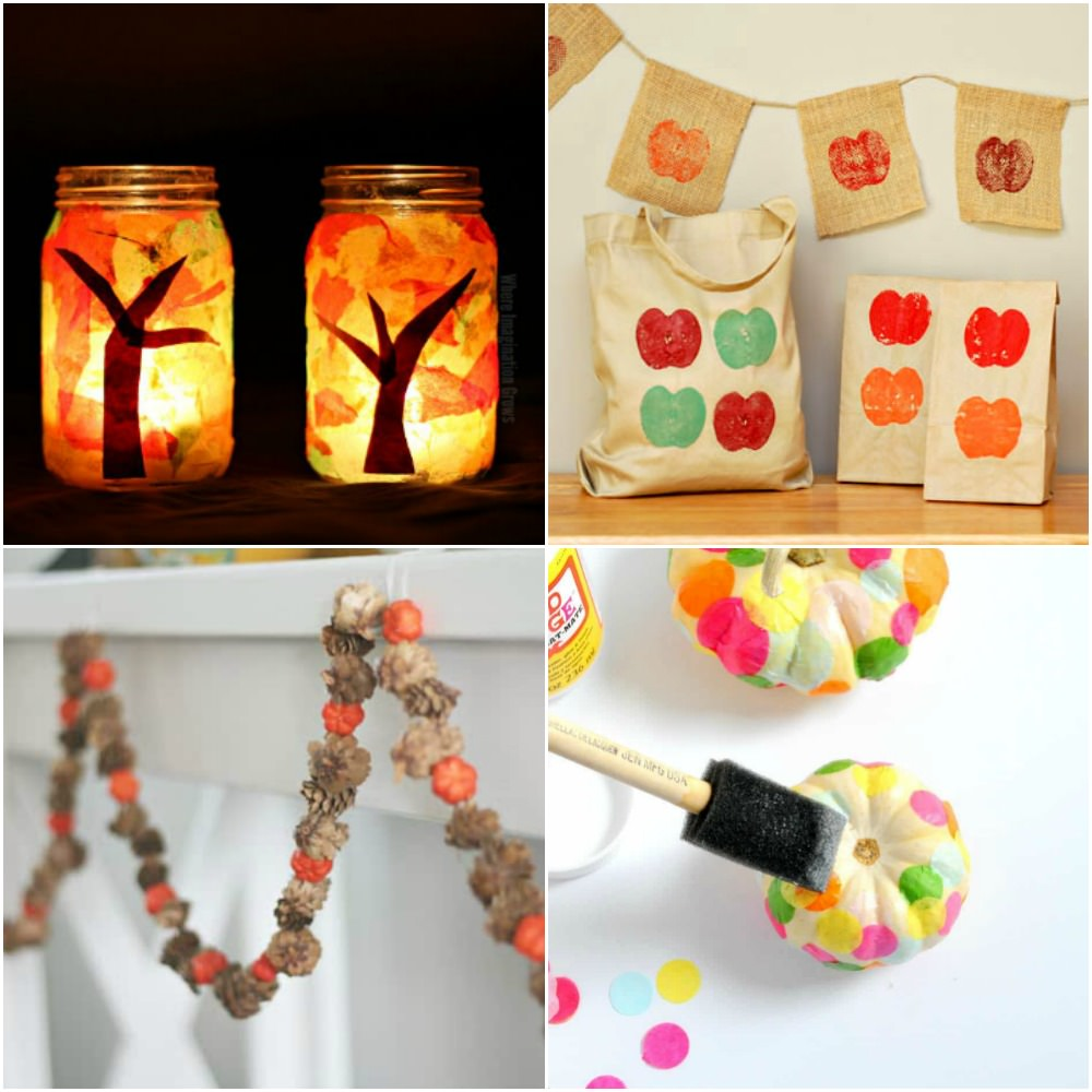 Fun autumn crafts for kids