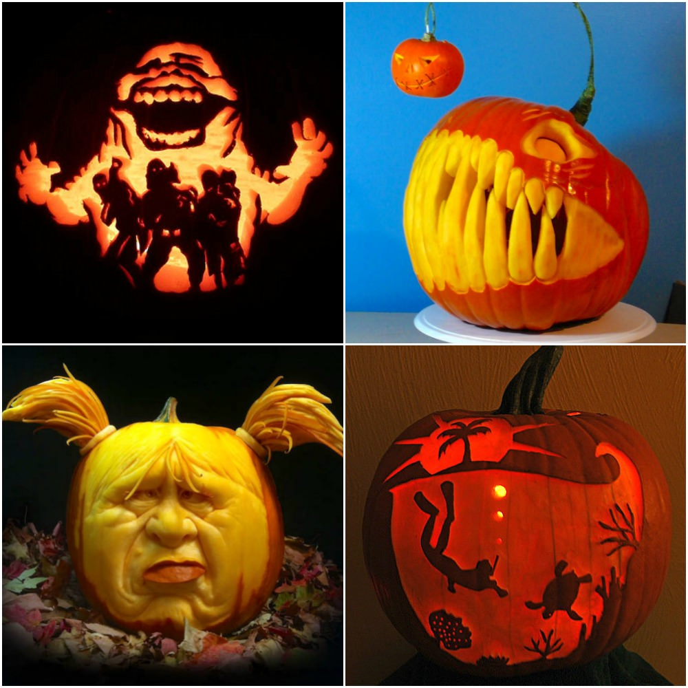 Halloween pumpkin designs