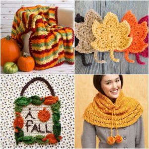 Free crochet patterns for fall