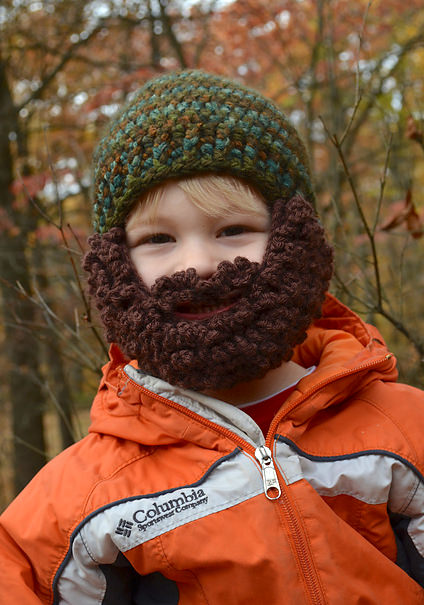 Mountain Man Beard Hat Pattern