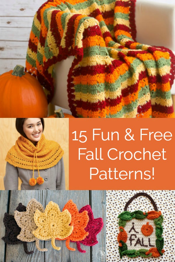fun and free fall crochet patterns