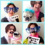 New Year's Eve Photobooth props