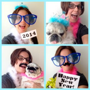 Make Your Own New Year's Eve Photo Boot...
