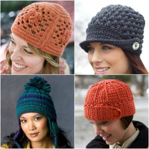 Keep Cozy: 12 Easy & Free Crochet Hat Patterns