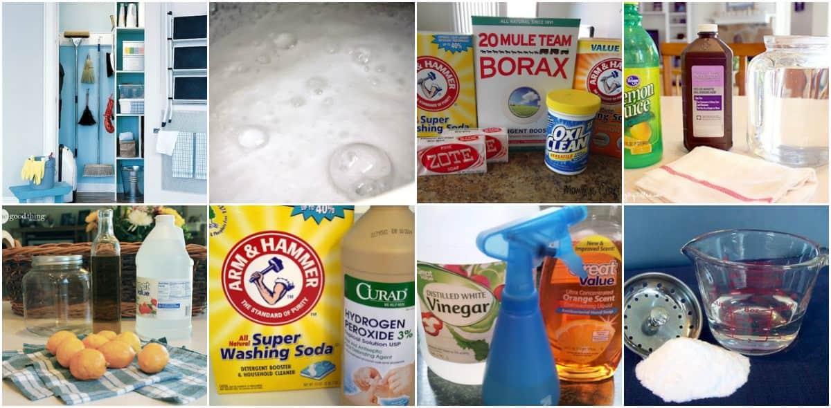 12 Easy Recipes For Homemade Cleaners Diycandy Com