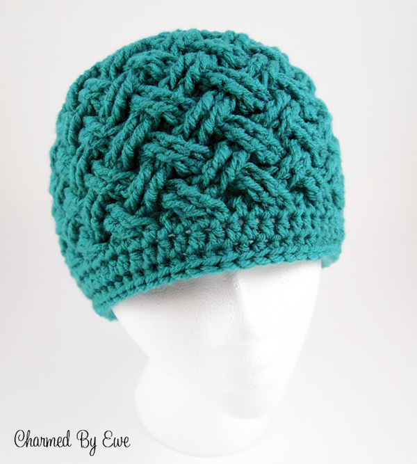 Celtic dream beanie crochet pattern