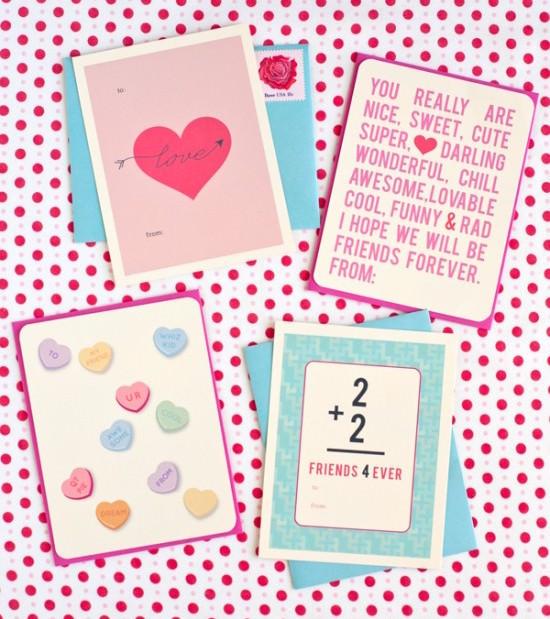 printable class valentines
