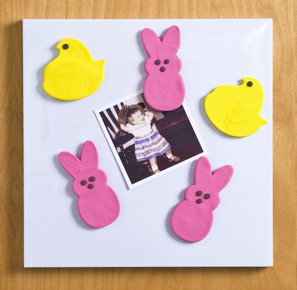 Peeps Crafts - Easy Clay Easter Magnets