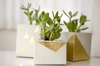16 Concrete DIY Projects For Home Decor