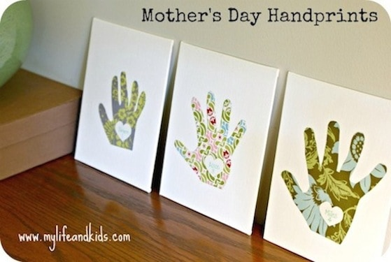 10 Cute Mother S Day Crafts For Kids Diy Candy