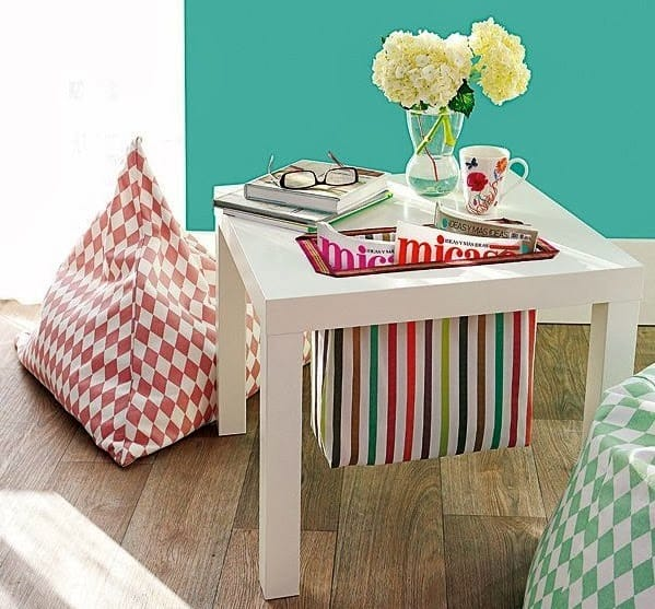 20+ IKEA Hacks Using the Lack Side Table