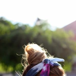 Make a knotted DIY headband