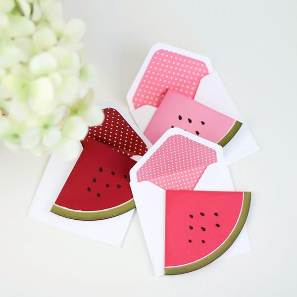 12 Sweet & Summery Watermelon Crafts