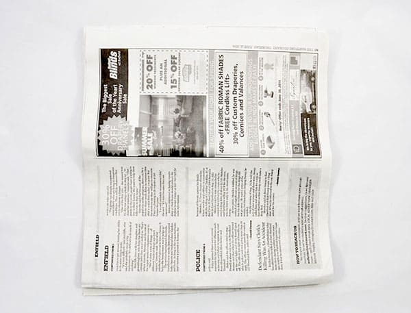 Newspaper Poms_3
