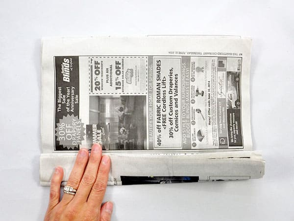 Newspaper Poms_4