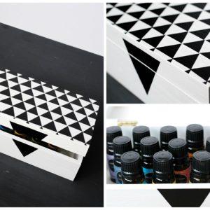 DIY Essential Oils Storage Box