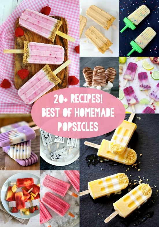 20+ Homemade Popsicle Recipes - the Ultimate List