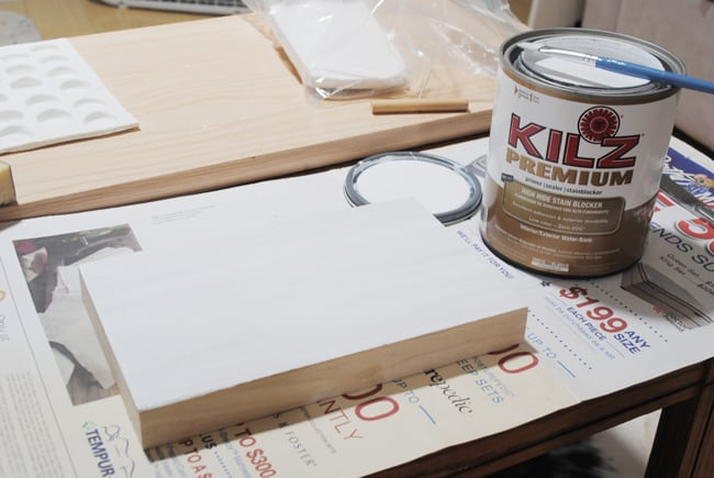 7 - priming wooden box