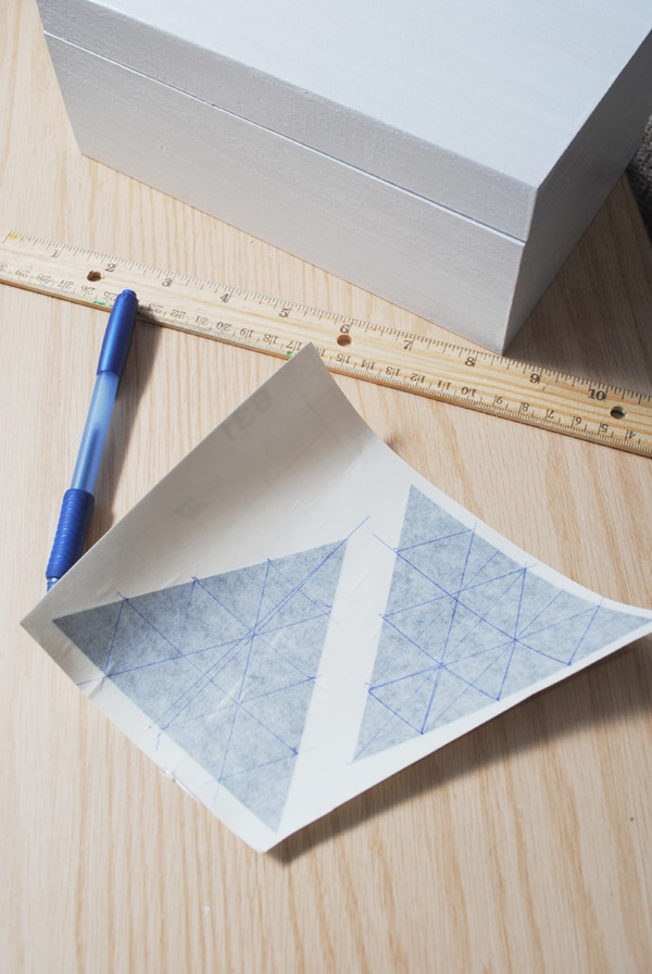 9 - creating mini triangle vinyl decals