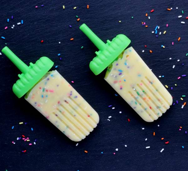 Funfetti Pudding Pops Recipe
