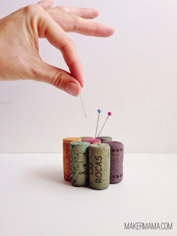 Cork Crafts: Make an Easy Pincushion
