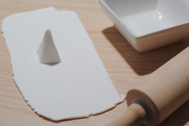 create a triangle