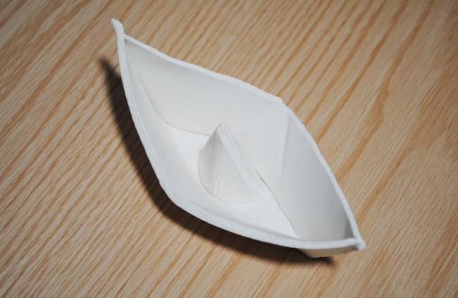 finished origami shape