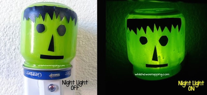 Frankenstein Night Light OffOn