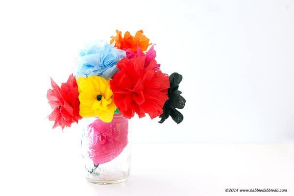 streamer flowers