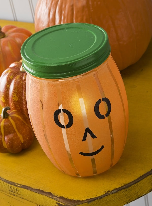 "Make an EASY ""Jack 'O Light"" Pumpkin Lantern"