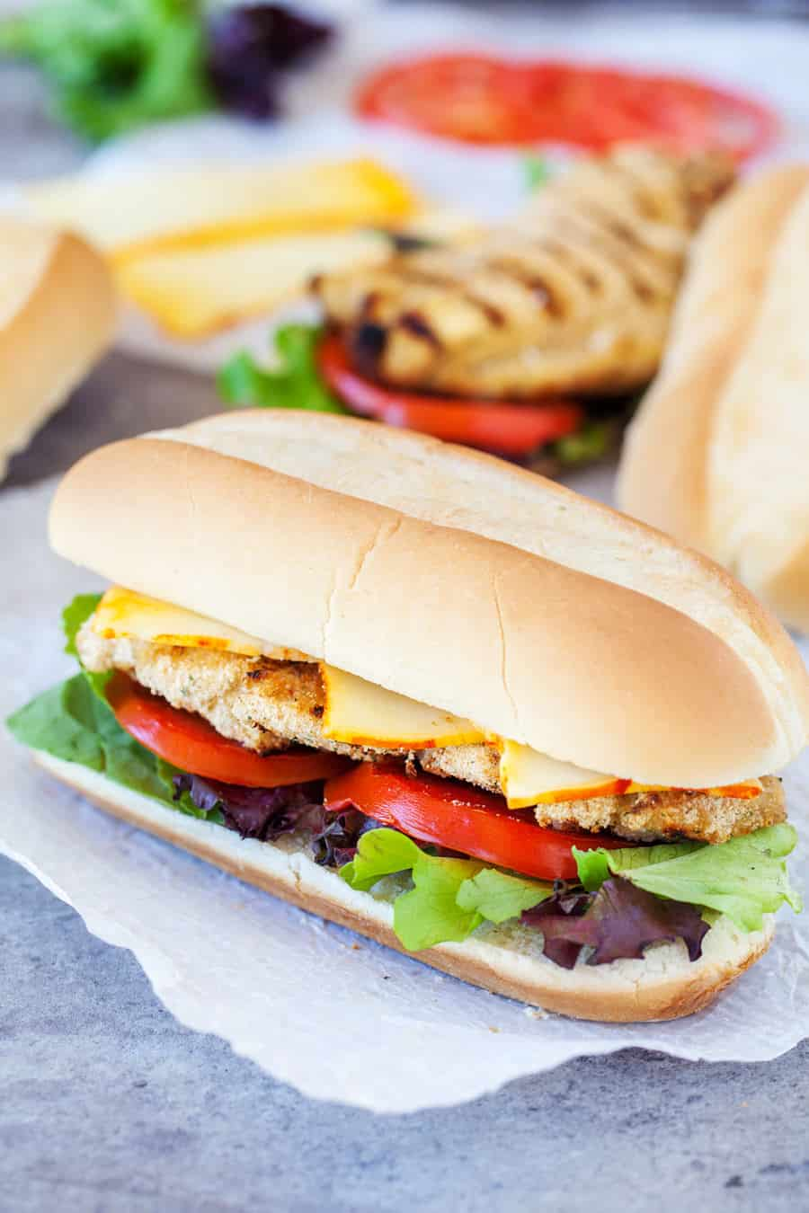 Want a delicious chicken sandwich recipe that takes better than fast food and is better for you too? Your whole family is going to love this!