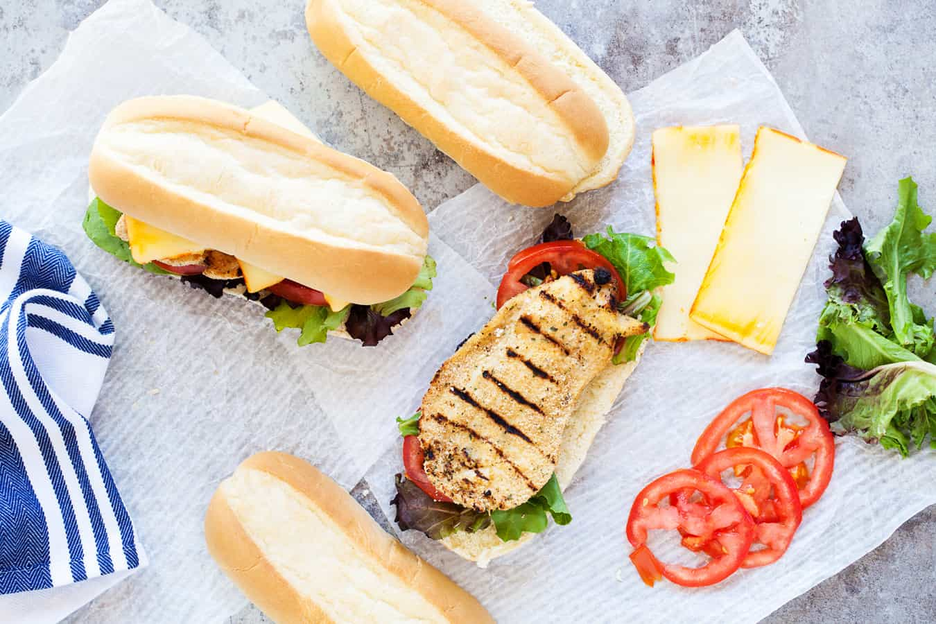 homemade chicken sandwich recipe