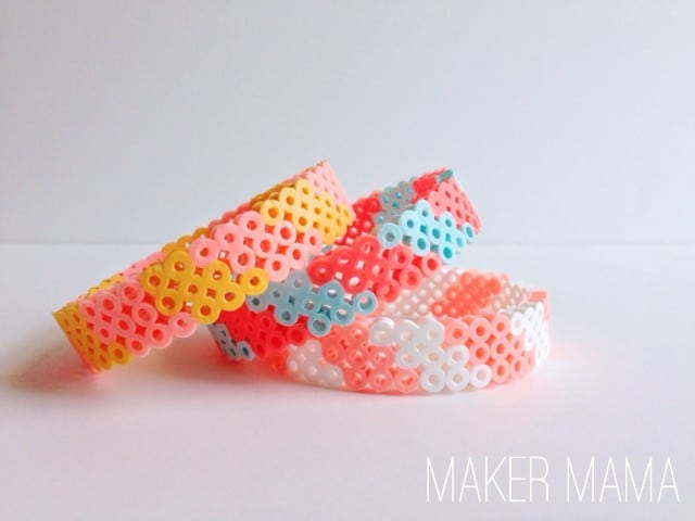 How To Make Bracelets With Perler Beads Diy Candy