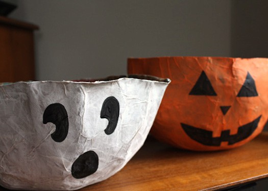 pumpkin-and-ghost-bowls