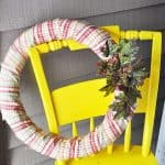 Make a budget friendly DIY fall wreath from a pool noodle! So cute!