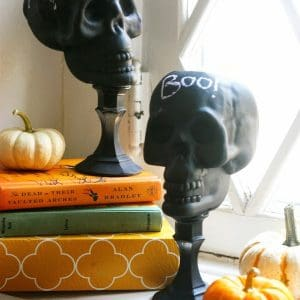 Dollar Store Craft: DIY Upcycled Skulls