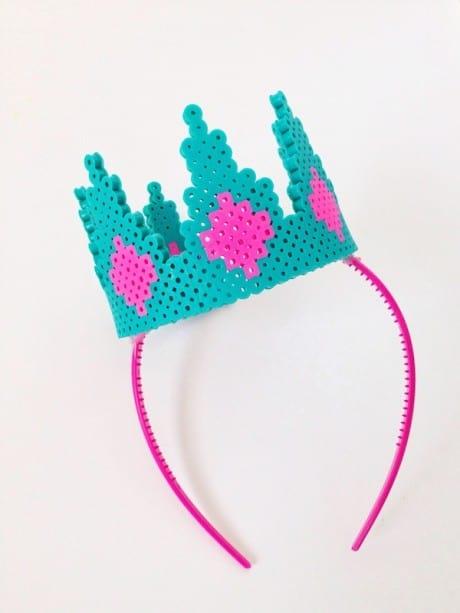 Make a Perler Bead Crown