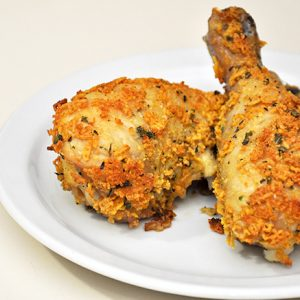 Amazing Oven Fried Chicken Recipe