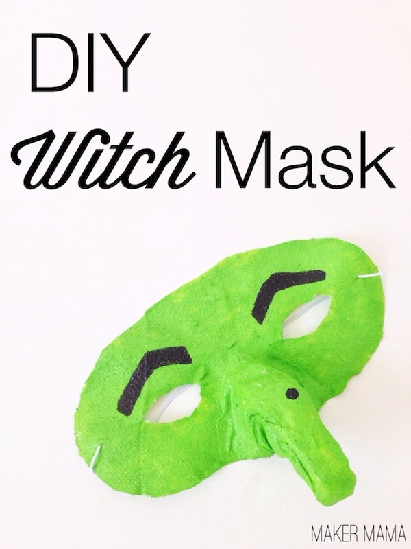 The Easy Way to Make a Witch Mask with Gauze