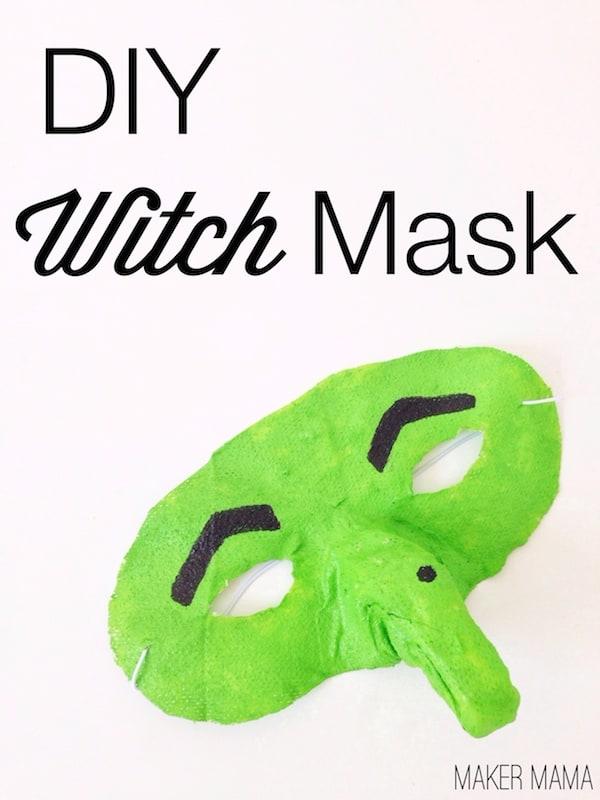 Make a Witch Mask with Gauze