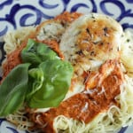 This recipe for Chicken Milano is restaurant quality, seriously get in my belly good. If you love a good traditional Italian meal you will love this dish.