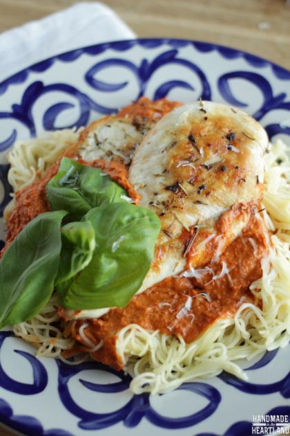Fresh Homemade Chicken Milano Recipe