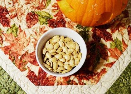 Tasty Roasted Pumpkin Seeds Recipe