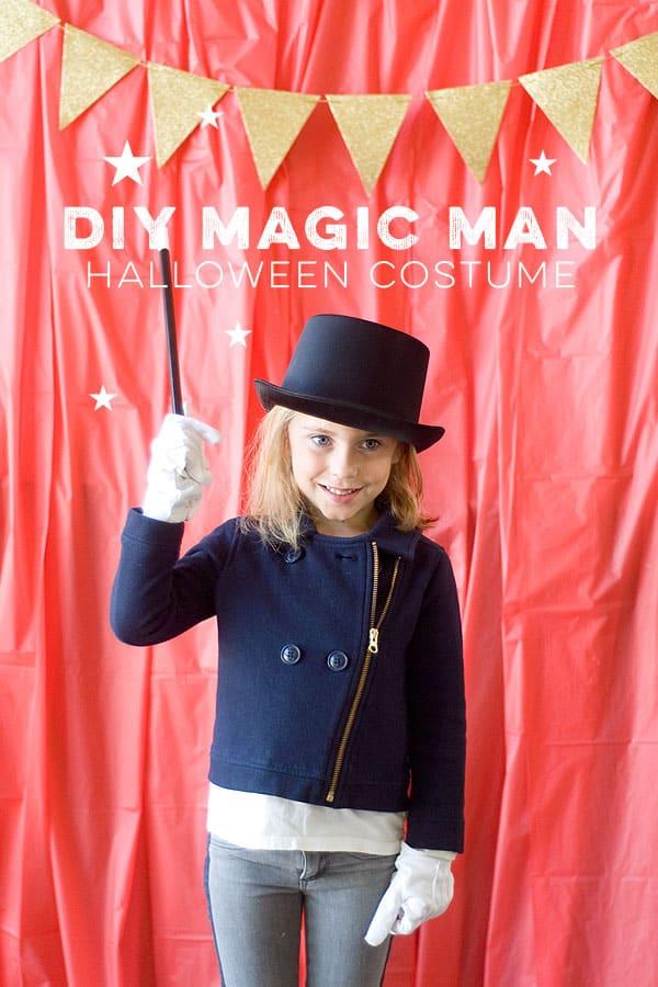 DIY Magic Man | Halloween Costume Idea