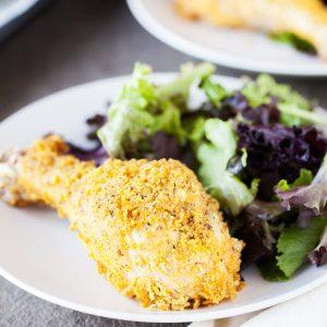Amazing Oven Fried Chicken Recipe