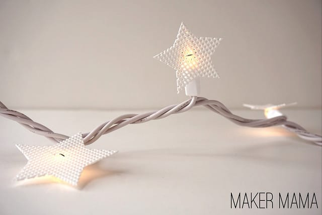 Learn how to make Christmas light covers