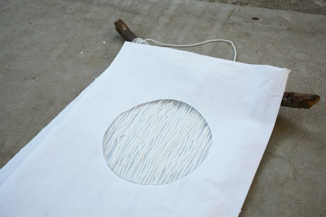5 - making a circle to spray paint
