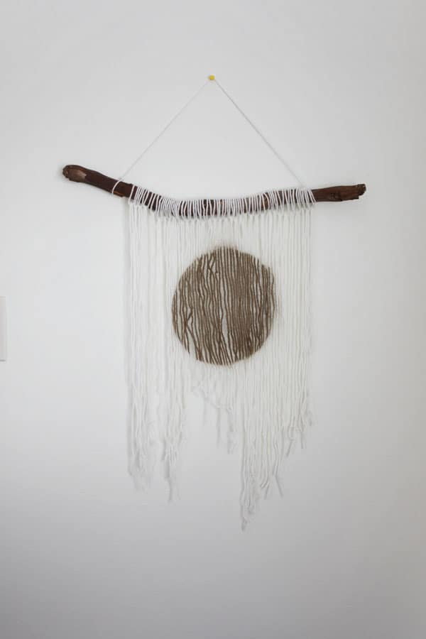 Yarn Stick Diy Wall Hanging Diycandy Com